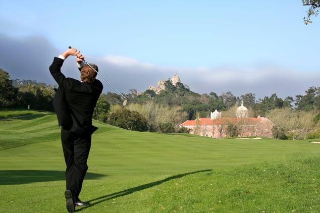 Follow Through Golf Swing